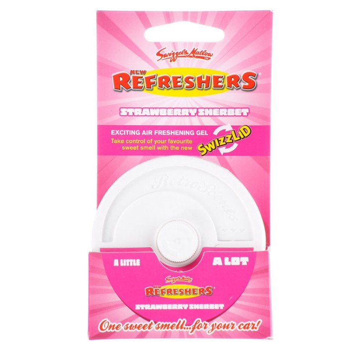 Car Care Retroscents Refreshers Gel Pot Straw