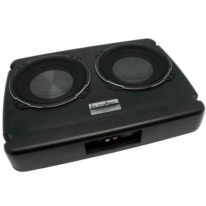 usw12 dual underseat active subwoofer system 600 watts with. Black Bedroom Furniture Sets. Home Design Ideas