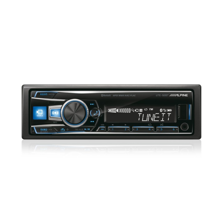 iPhone Compatible Alpine Car Audio Systems UTE-92BT 1