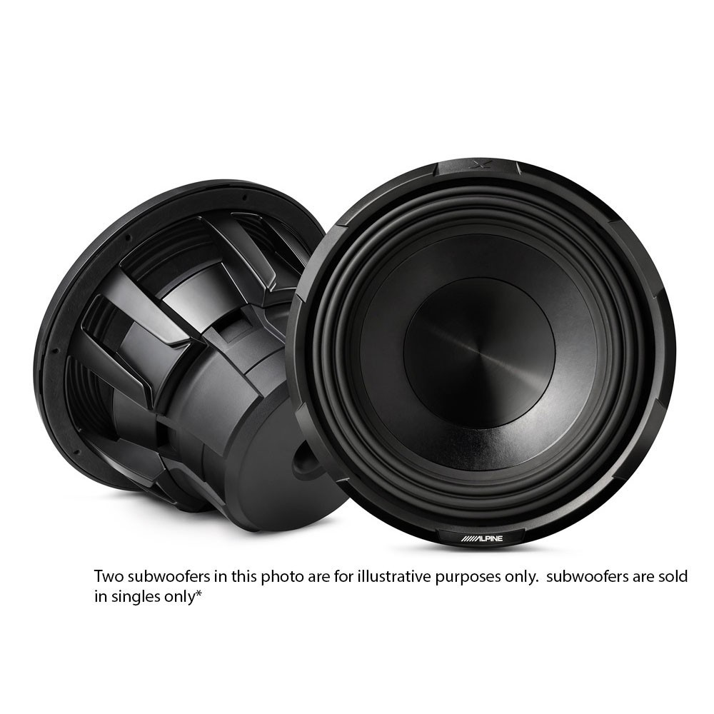 Sub Woofers Alpine Car Audio Systems X-W10D4