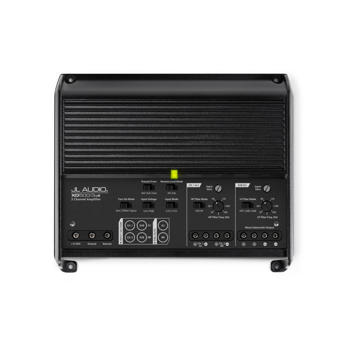 3 Channel Amplifiers JL Audio JLXD500/3V2 2