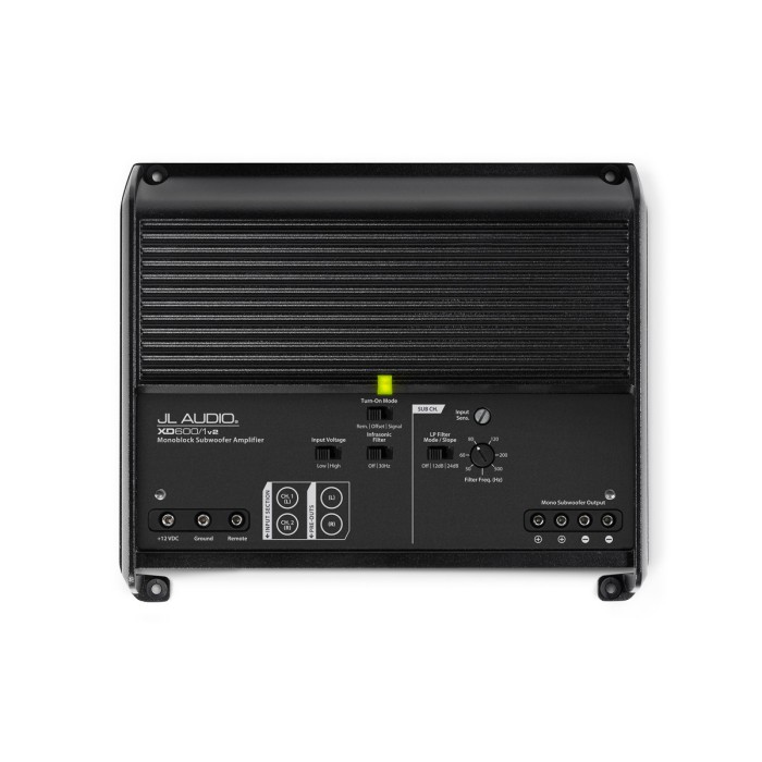 Monoblock / Digital (Class D) Amplifiers JL Audio JLXD600/1V2 1