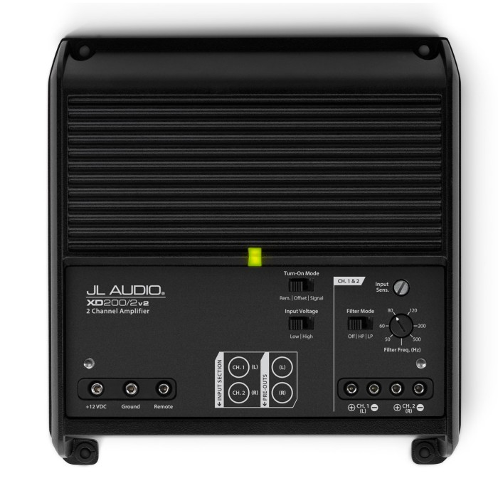 2 Channel Amplifiers JL Audio XD200/2V2 2
