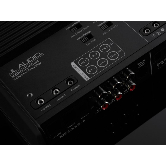 5 / 6 Channel Amplifiers JL Audio JLXD600/6V2  5