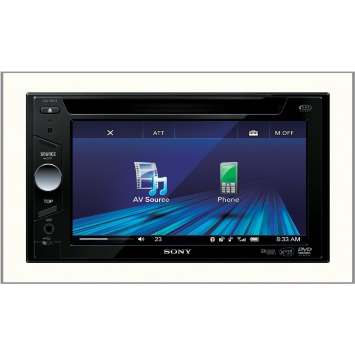 Product m Sony Xav64bt p 31284 on panasonic cd car stereo
