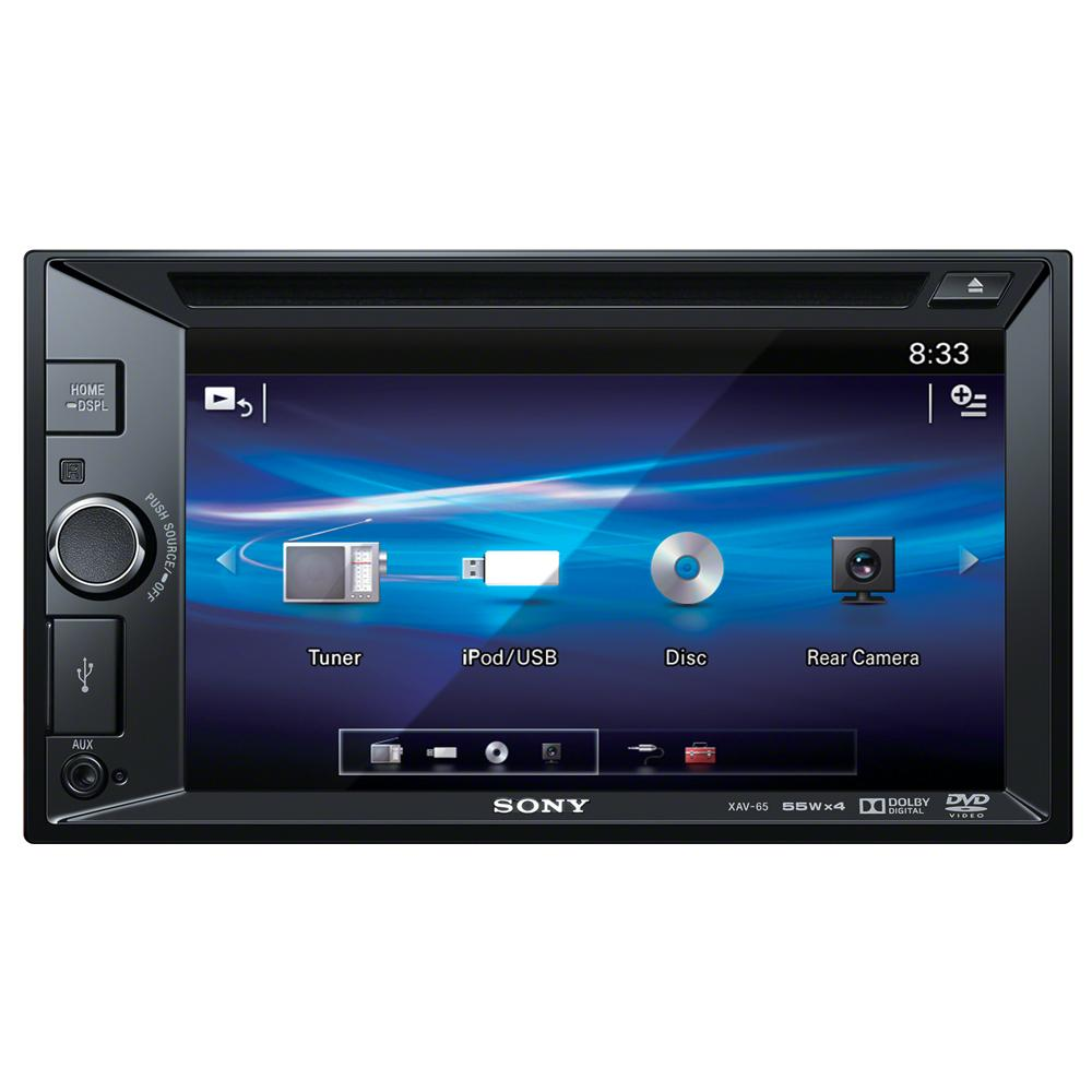 Xav 65 Double Din Cd Mp3 Dvd System 62 Touchscreen Usb Au Corolla Or Single Radio Stereo Dash Kit Wiring Harness Screen Sony