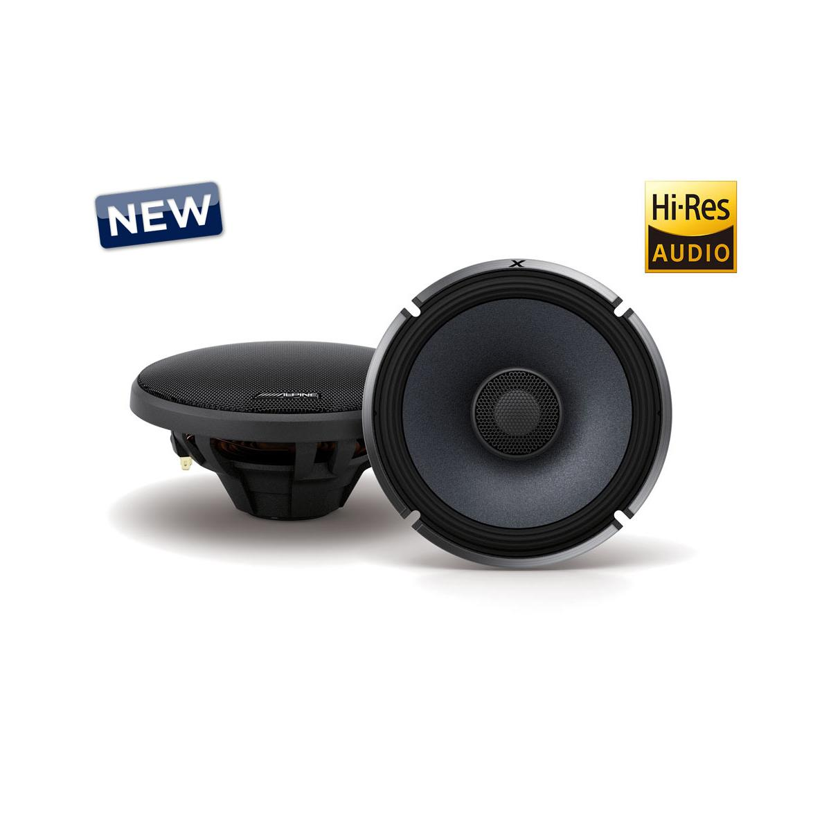 Car Speakers Alpine Car Audio Systems X-S65