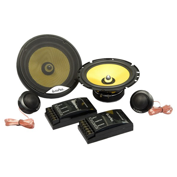 Car Speakers In Phase XTC601
